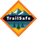 TrailSafe | Reflective Trail Markers Logo